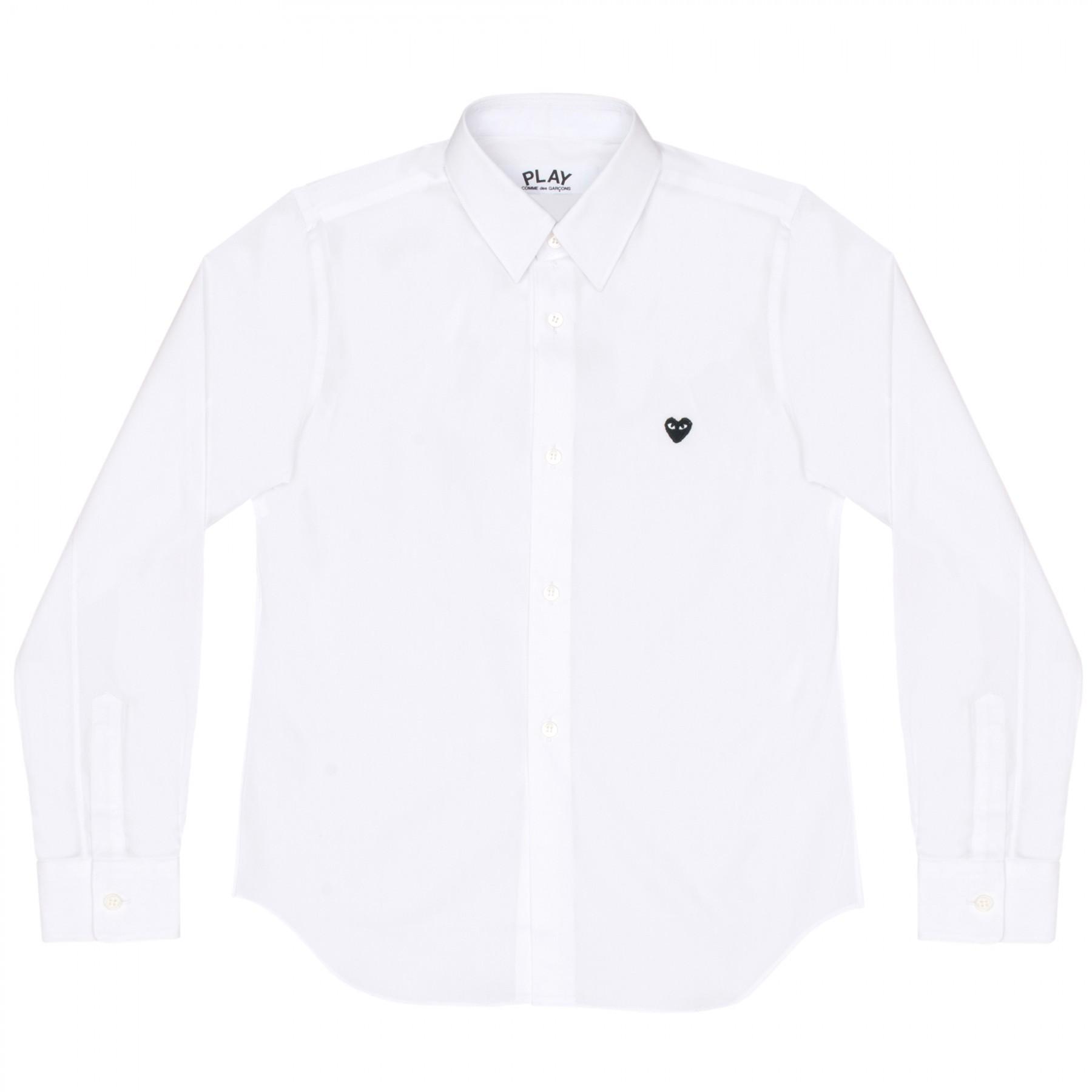 꼼데가르송 PLAY 와이셔츠 리틀 블랙하트 (여성)